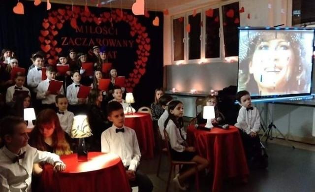 Impreza w Szkole Podstawowej numer 5 w Jędrzejowie
