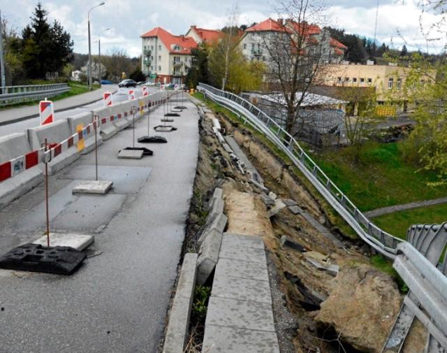 Most zostanie nie tylko naprawiony, ale i rozbudowany, tak by mógł wytrzymać większe ulewy