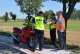 Motocyklista uderzył w tył pojazdu