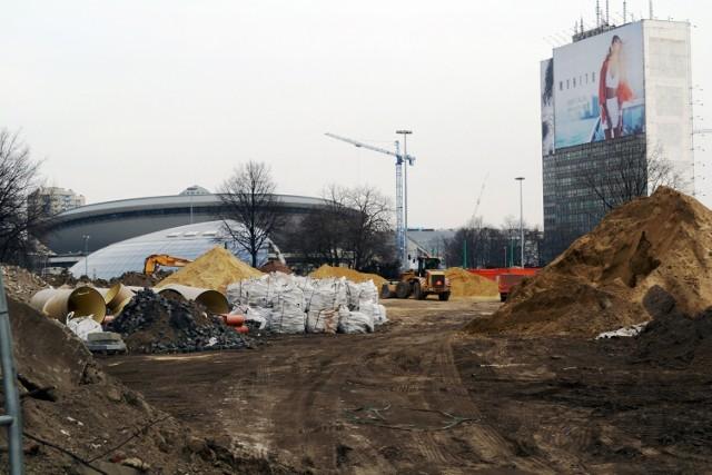Przebudowa centrum Katowic - remont alei Korfantego