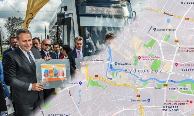 Co się zmieni w sieci tramwajowej w Bydgoszczy? Jakimi ulicami będą jeździć tramwaje? Zobacz >>>