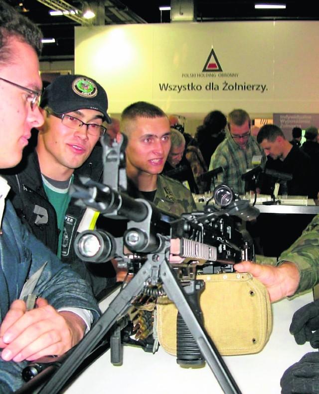 W karabiny maszynowe produkowane w Tarnowie wyposażone zostaną nowo powstające oddziały Wojsk Obrony Terytorialnej