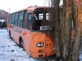 Wronki - Wypadek szkolnego autobusu. Zdjęcia