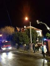 Pożar w Witoszowie Górnym. Przez odpaloną petardę ewakuowano pięć rodzin?