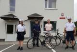 Policjanci ze Świerklan dostali nowe rowery ZDJĘCIA