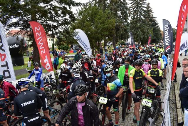 Około 300 rowerzystów stanęło na starcie kolejnego etapu Kaczmarek Electric MTB w Krośnie Odrzańskim!