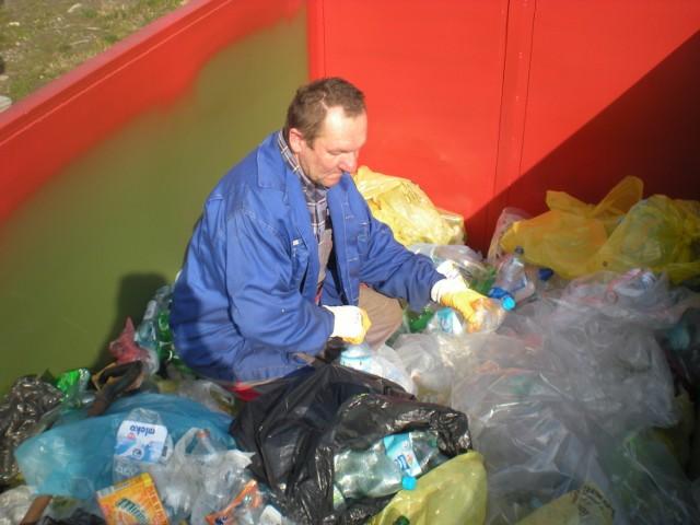 Do ZOM w Bochni trafiają posegregowane śmieci