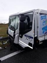 Wypadek na A1. Na wysokości Juszkowy zablokowany pas w kierunku Łodzi