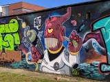 Najciekawsze murale i graffiti w Lublińcu - czyli sztuka na ulicach miasta. Zobacz ZDJĘCIA