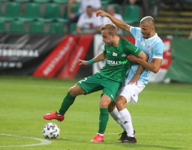 Robert Janicki ma na koncie występy w rozgrywkach ekstraklasy