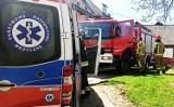 W gorczańskiej wiosce pod Mszaną Dolną pożar wybuchł w samo południe