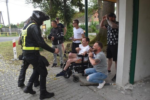 """Akcja """"Zatrąb"""" dla niepełnosprawnego Marcina z Pławia."""