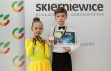 Najmłodsi tancerze rywalizowali na parkiecie w Skierniewicach
