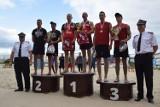 4 Wojewódzkie Mistrzostwa Strażaków w siatkówce plażowej Puck 2018 . Bytów pokonał wielokrotnych mistrzów z Pucka   ZDJĘCIA, WIDEO
