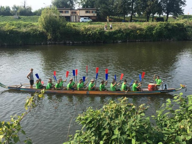 Jedną z atrakcji towarzyszących Festiwalowi Górnej Odry mają być wyścigi smoczych łodzi.