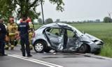 Gm. Nowy Staw. Tragiczny wypadek na drodze krajowej nr 55. Zginęły dwie osoby