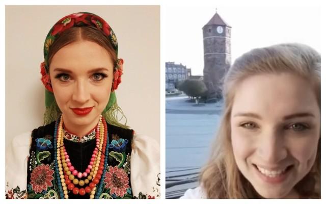 """Żninianka Hanna Nowakowska od roku związana jest z Państwowym Zespołem Ludowym Pieśni i Tańca """"Mazowsze""""."""
