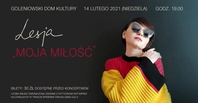14 lutego w Goleniowskim Domu Kultury odbędzie się pierwszy po dłuższej przerwie koncert z udziałem publiczności
