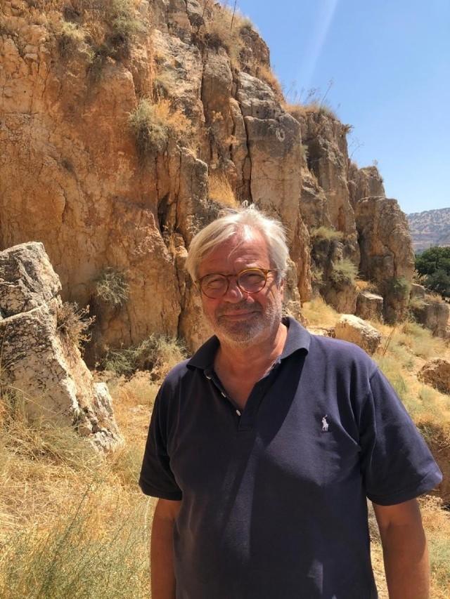 Marek Trela kieruje sanktuarium, czyli rezerwatem dla zwierząt uratowanych z obszarów działań wojennych