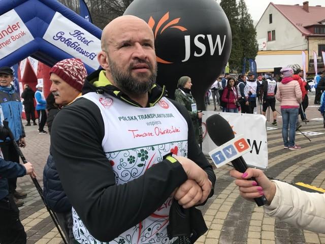 Bieg po nowe życie w Wiśle. Uczestnicy wsparli transplantologię