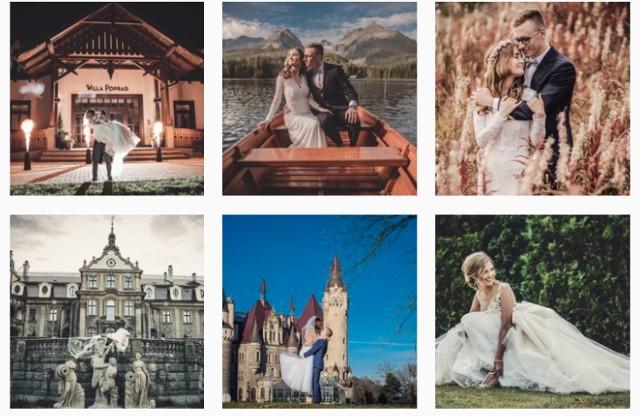 """Piękne zdjęcia nowożeńców z Nowego Sącza i okolic.  Kliknij w przycisk """"zobacz galerię"""" i przesuwaj zdjęcia w prawo - naciśnij strzałkę lub przycisk NASTĘPNE."""