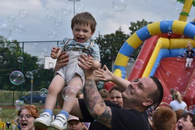Dzieci miały niezłą zabawę podczas pikniku rodzinnego w Brodnicy