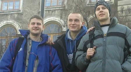 Lubomirowi i obu Władimirom bardzo odoba się w Bielsku.