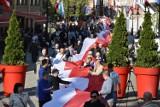 Dzisiaj Dzień Flagi, zobaczcie jak było rok temu w Legnicy [ZDJĘCIA]