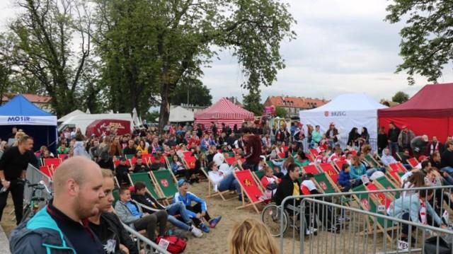 Tak wyglądała strefa kibica w Brzegu podczas mistrzostw świata w 2018 roku.