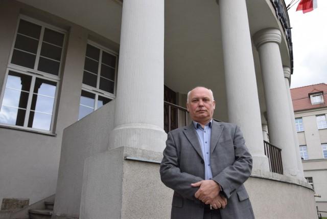 Dyrektor SP ZOZ w Głuchołazach Artur Grychowski