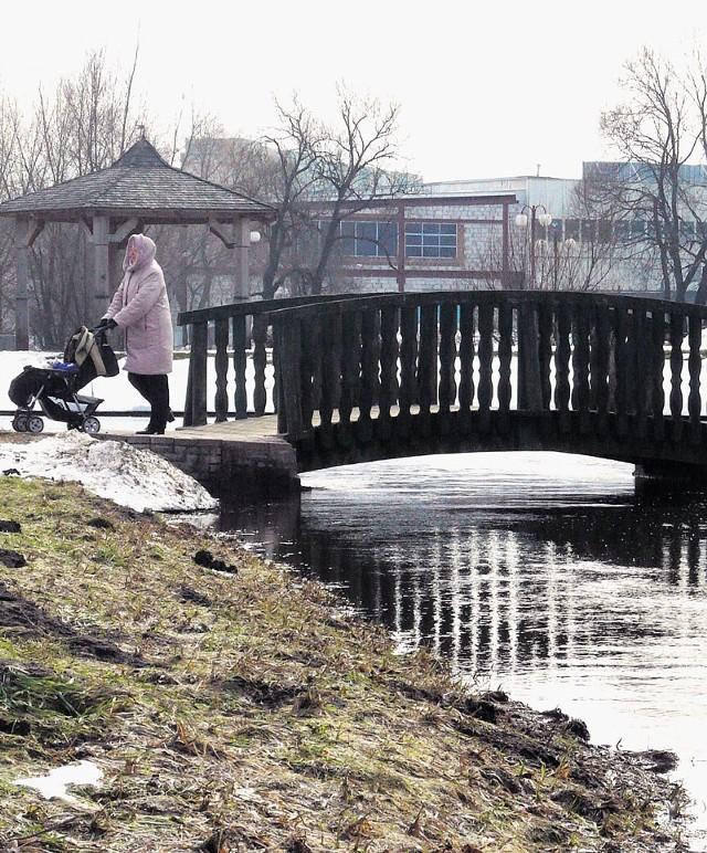 Na razie rzeka Rakówka nie wystąpiła z brzegów