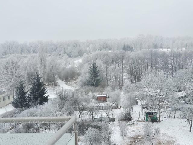Oto Wasze zdjęcia, widoki z okien i nie tylko. Przepiękna zima w naszym regionie!