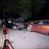 Skorzęcin: Wypadek na trasie. Dwie osoby poszkodowane [ZDJĘCIA]