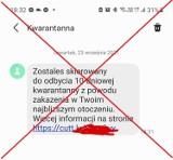 Uwaga na fałszywe smsy o kwarantannie! Dostają je mieszkańcy naszego regionu