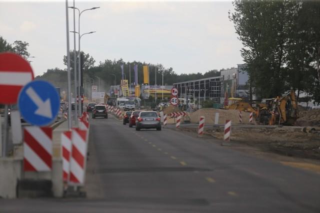 Przebudowa węzła Piotrowice, czyli skrzyżowania ulic Kościuszki i Armii Krajowej na DK81 w Katowicach