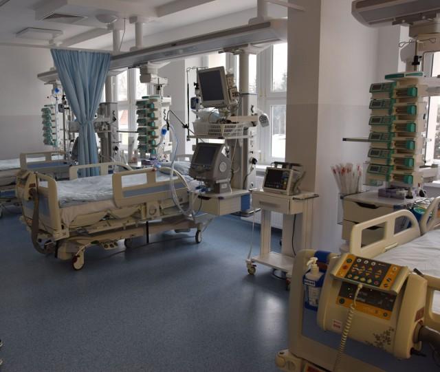 Na wszelki wypadek dla chorych na Covid-19 zostały trzy łóżka na oddziale intensywnej terapii