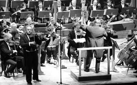 W sali Filharmonii Częstochowskiej znów zabrzmi muzyka skrzypcowa. ZDJĘCIE: JACENTY DĘDEK
