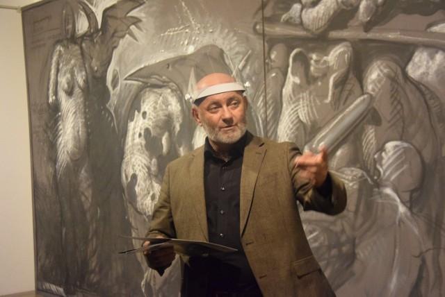 Otwarcie wystawy w Miejskiej Galerii Sztuki Obok w Tychach