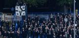 Kibice Sandecji na meczu w Rzeszowie z Resovią. Sektor pełen ludzi [ZDJĘCIA]