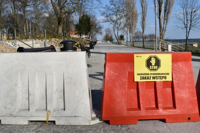 Zakazy wstępu w Krośnie Odrzańskim. Nie można wchodzić do parków i nie tylko.
