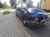 Szczecinek, ulica Polna. Znowu to samo, wjechał w zaparkowane auto [zdjęcia]