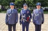 Opolscy policjanci odznaczeni przez prezydenta RP Andrzeja Dudę medalami za odwagę i wzorową służbę