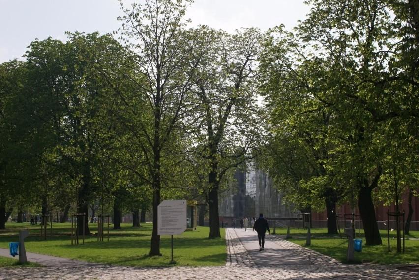 Największą powierzchnią zieleni miejskiej w obrębie miasta...