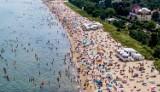 Pomorskie plaże oblegane przez turystów! Zobaczcie zdjęcia