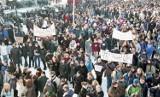 Z archiwum Tadeusza Surmy: tak protestowano w Stargardzie 20 lat temu. Wielka akcja przeciwko narkotykom. ZDJĘCIA