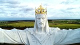 Co kryje korona na figurze Chrystusa w Świebodzinie?Czy nadal są tam anteny? Zajrzyj!