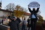Strajk Kobiet w Wieluniu. Policja prowadzi postępowanie wobec 23 osób. Za co? ZDJĘCIA