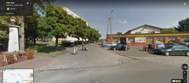 Zobacz, jak uchwyciły Opatówek kamery Google Street View