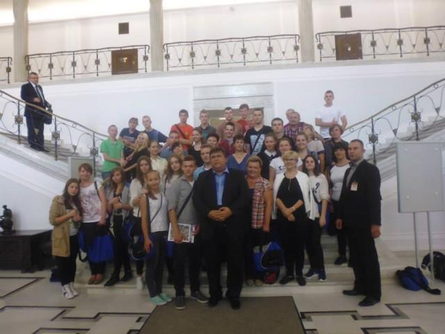 Wycieczka do Warszawy Stowarzyszenie Edukacja Młodzież