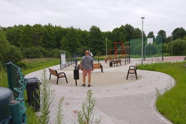 Plac zabaw i boisko powstały dzięki zielonogórzanom, którzy poparli projekt w Budżecie Obywatelskim.